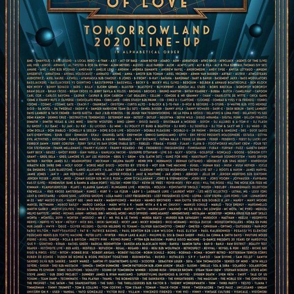 Обзор сцен на Tomorrowland 2020